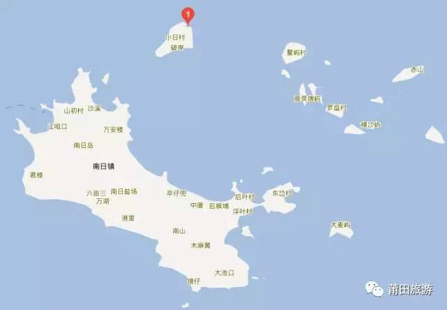 """1平方公里以上的岛礁有18个,素有""""十八列岛""""之称."""