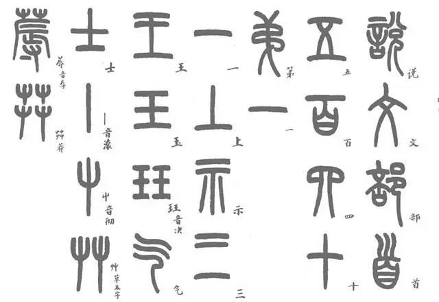 """点画偏旁,包括笔顺、主次等,外方内圆,稳如古鼎,所谓""""玉箸篆"""""""