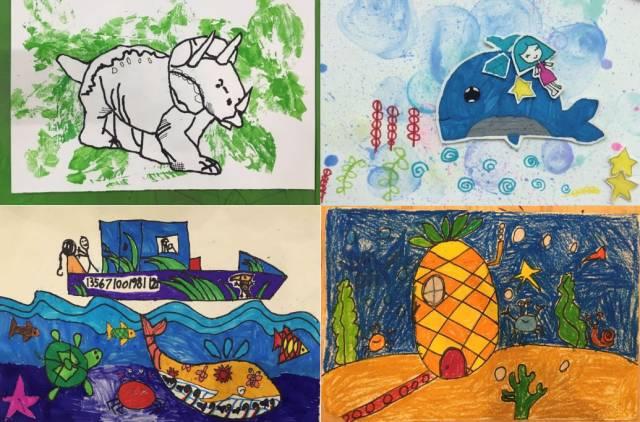 暑期班课程推荐|南宁万科梅沙教育一家大小社区营地创意美术类课程图片