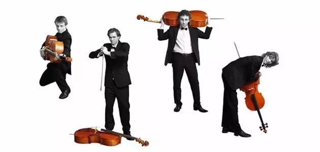 把大提琴 这个四重奏有点意思