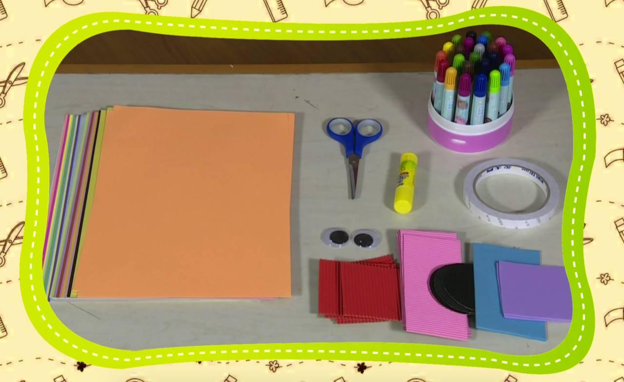 彩虹手工课|森林动物派对邀请函,做个纸袋手偶就能参加!