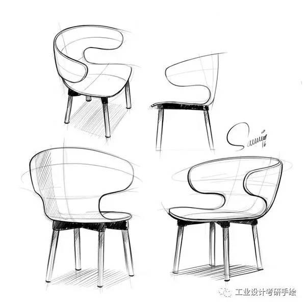 家具 简笔画 手绘 线稿 椅 椅子 600_600
