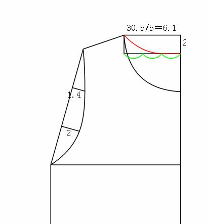 教你画简单T恤裁剪图