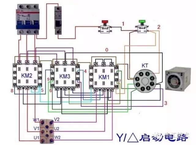 小编说: 那些年错过的电机实物接线图,今天统统还给你~ 每日精选