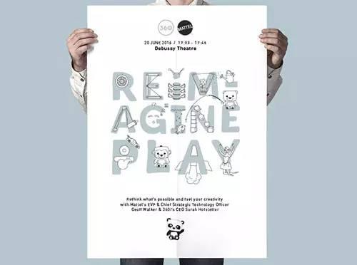 Dribbble&Behance2017年度最佳海报版式设可以sw用于么模具设计?图片