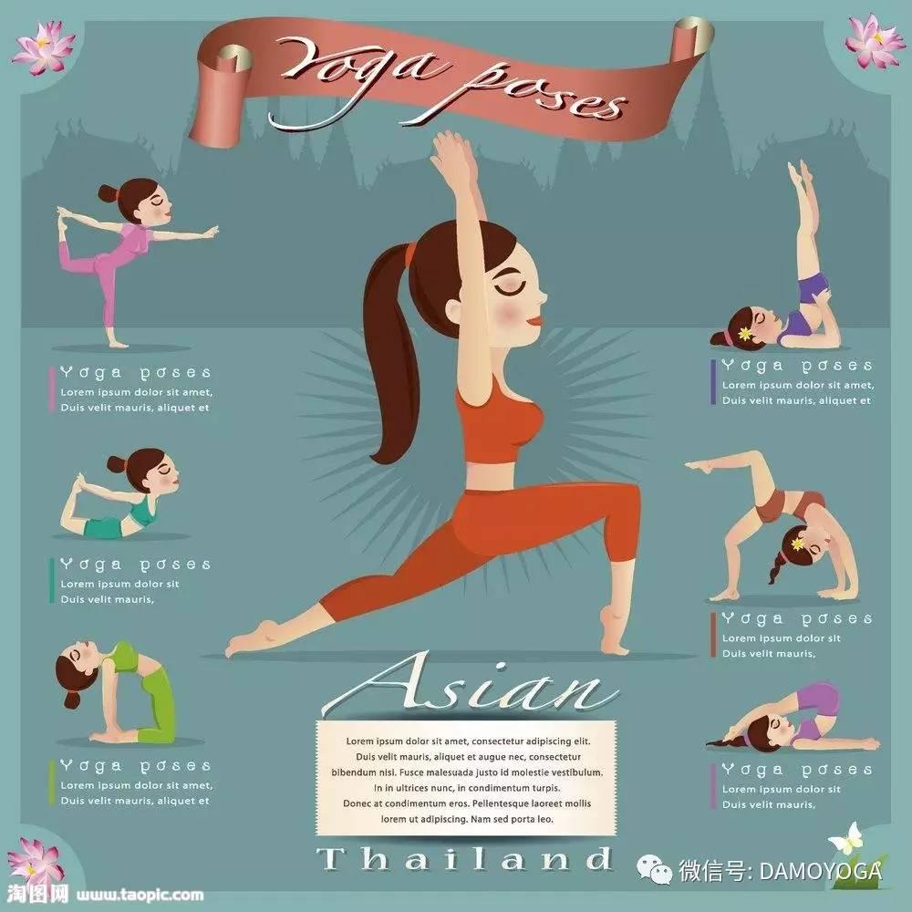 瑜伽体式编排方法建议图片