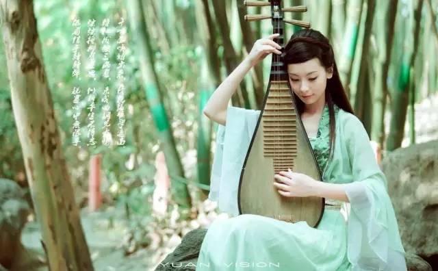 琵琶,幽而不怨的女子