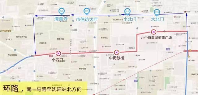 沈阳中街手绘地图
