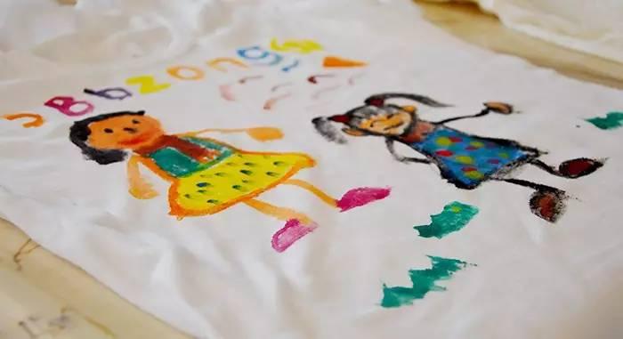 父亲节 · 手绘t恤diy    活动时间:   2017年6月18日(09