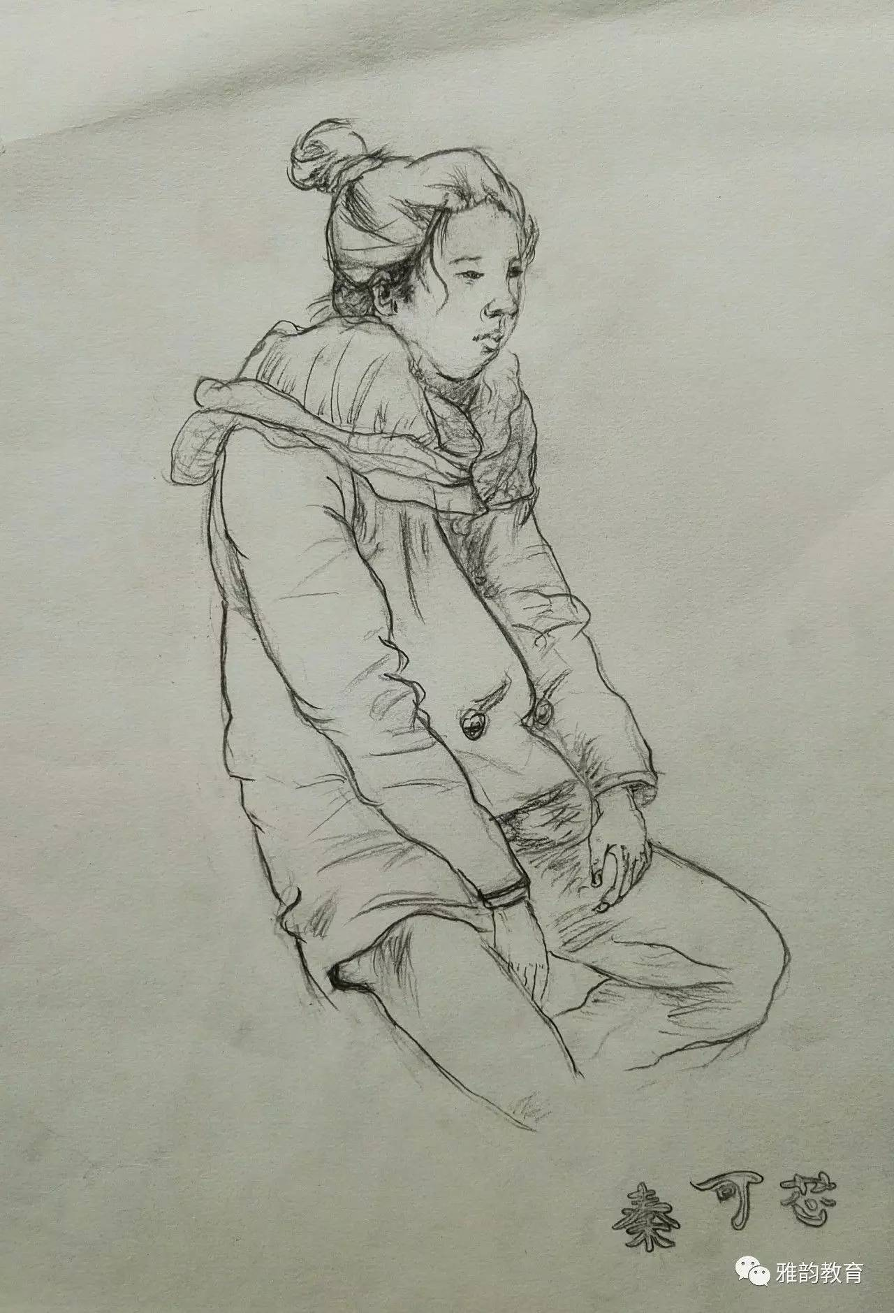 简笔画 手绘 素描 线稿 1280_1879 竖版 竖屏
