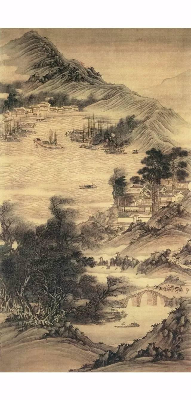 古画中 水 表现方法