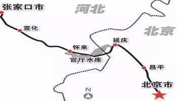 自北京北,途径沙城、下花园、宣 快速公交、常规公交、出租车、小