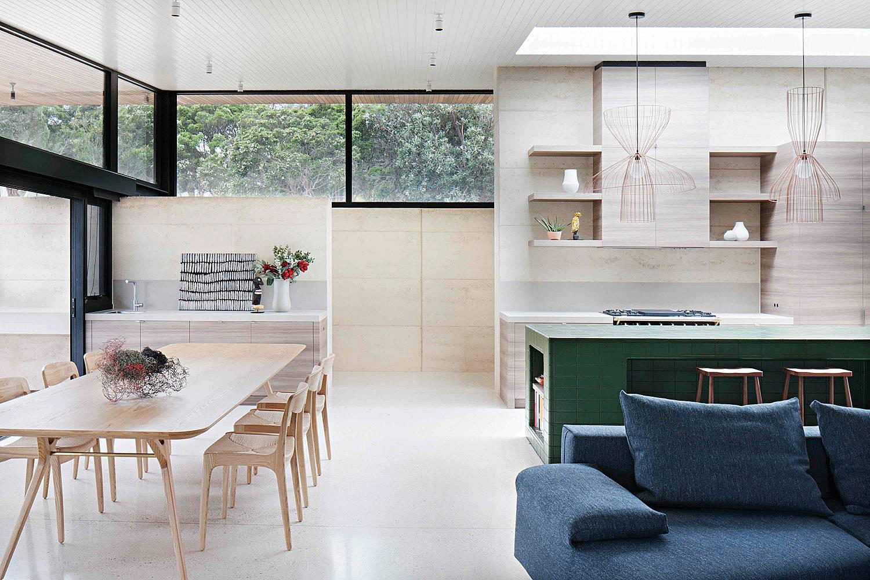 470㎡现代简约别墅设计,历经几代人都不过时的敞开式空间