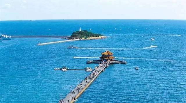 青岛标志——栈桥