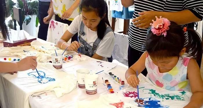 父亲节 · 手绘t恤diy    活动时间:   2017年6月18日(09:0