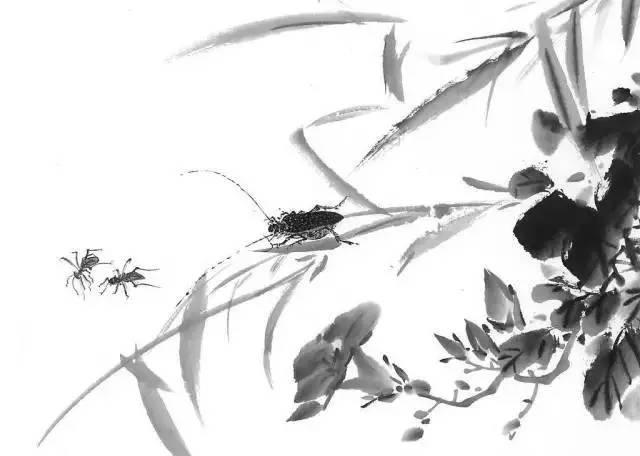 极简黑白水墨画-水墨 极简诱惑