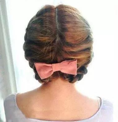 2款气质短发编发步骤,中短发也可做盘发哦!