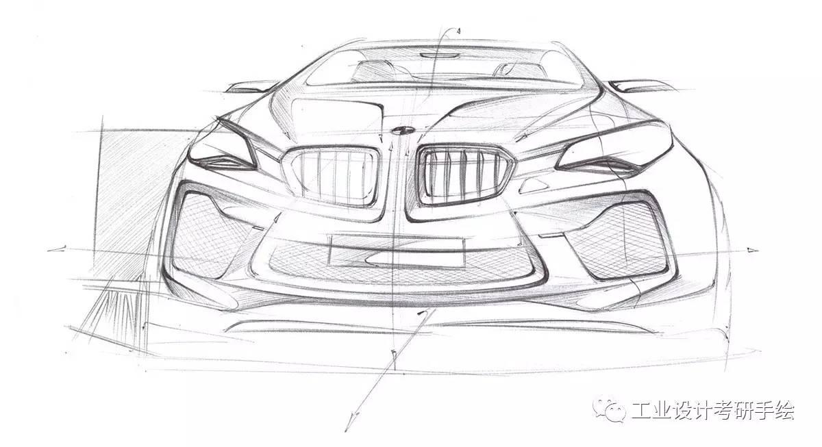 汽车设计手绘图欣赏