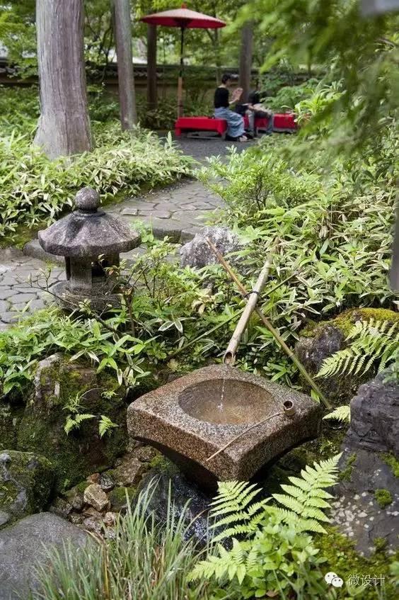 日式庭院中的设计元素