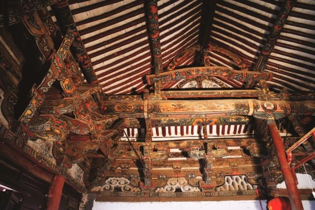遗产视野丨华锦鲜丽:中国古代建筑斗栱彩画