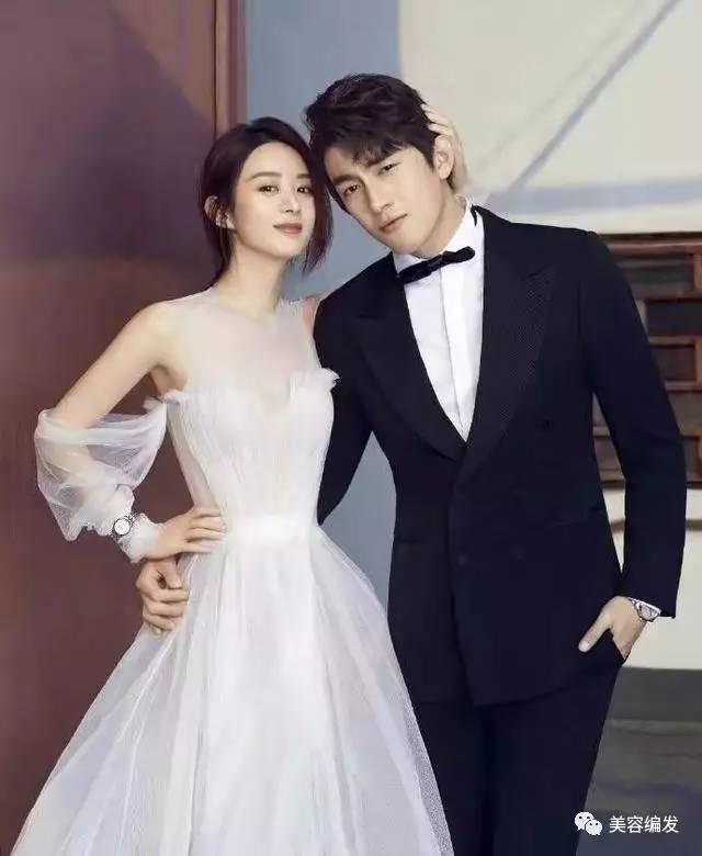 《楚乔传》林更新赵丽颖拍婚纱照,cp感爆棚图片