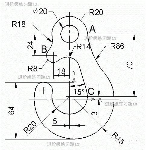 机械cad图纸复杂