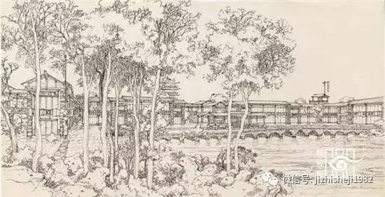 中国园林建筑手绘赏析