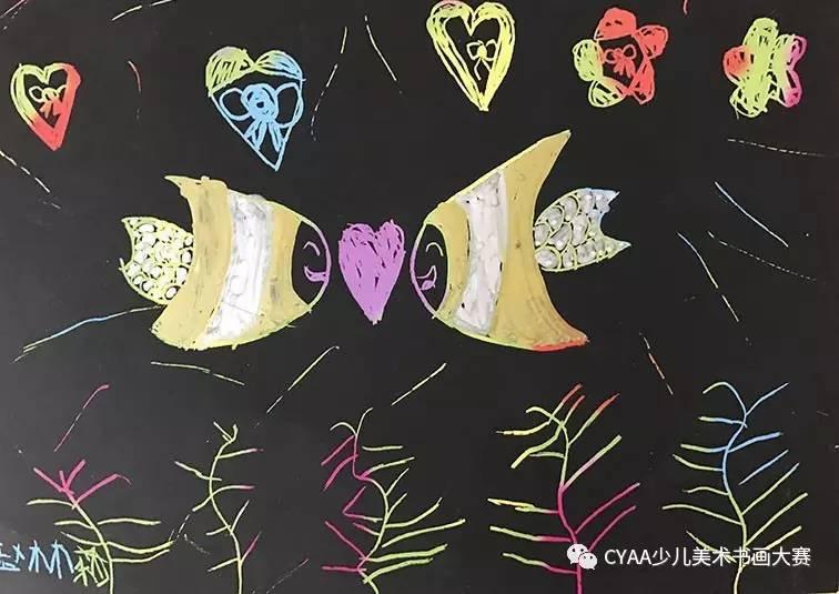 粘贴画 《圣诞树》 指导老师:邓悦    j775504022 赵林莉 6岁 女 刮画