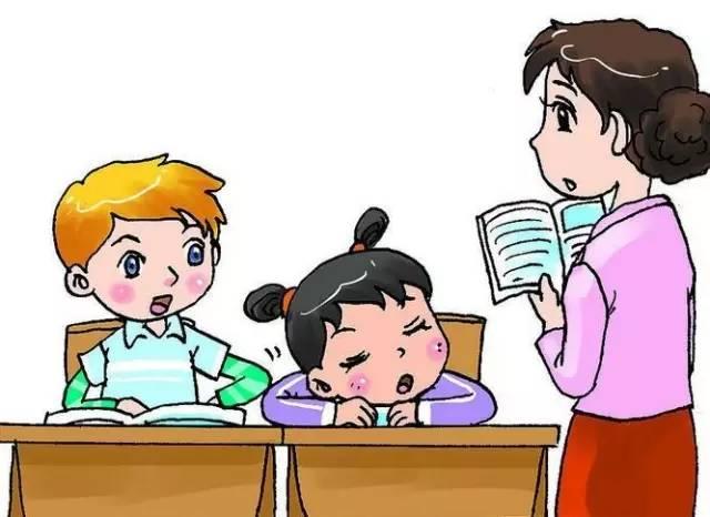 老师教学生卡通图片