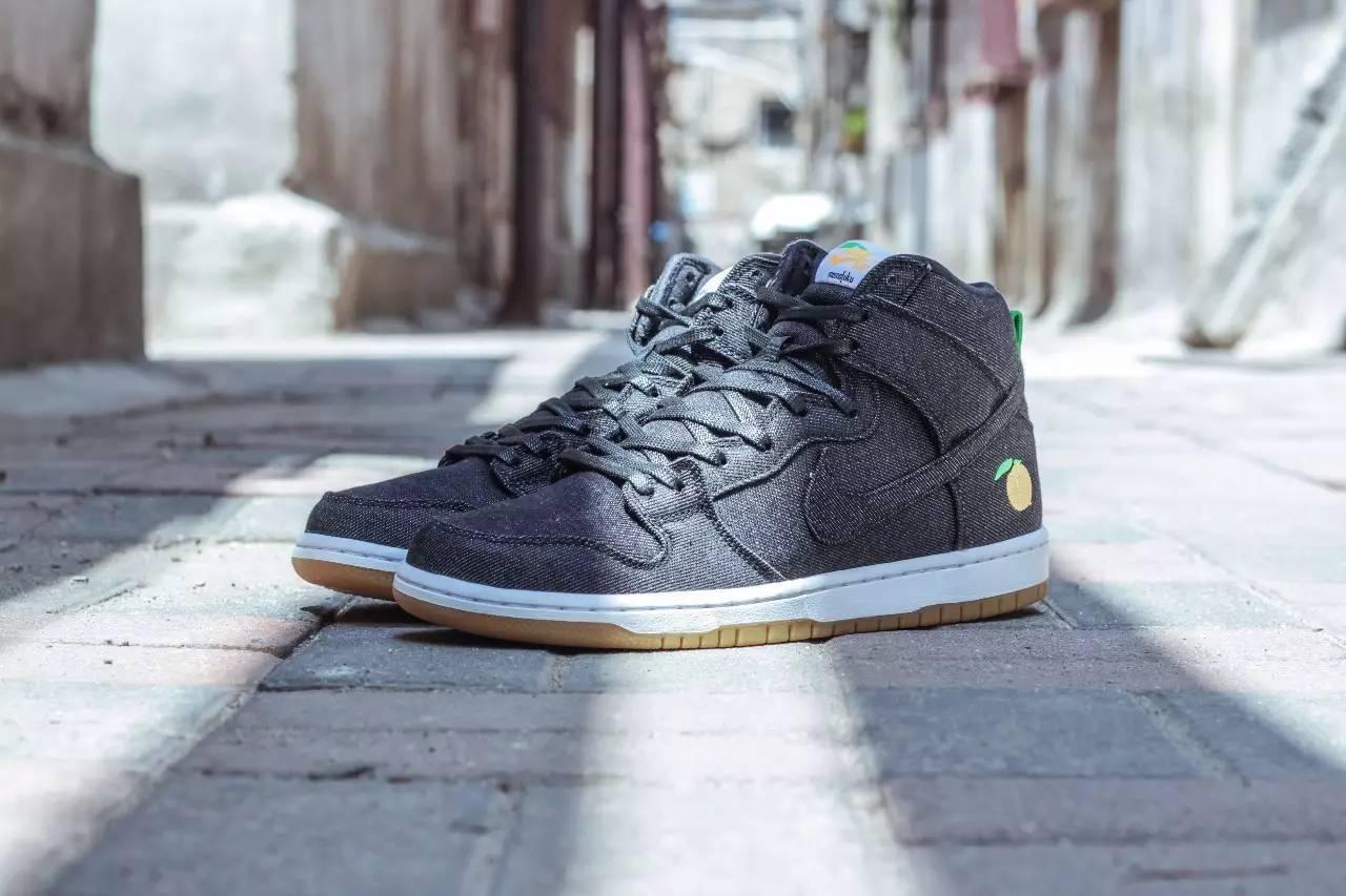 factory price be3d7 54f73 Momofuku「新菜色」!David Chang x Nike SB Dunk High Pro ...