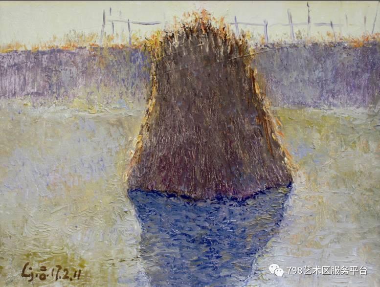 吕进油画风景写生展即将在798中方角画廊开幕!