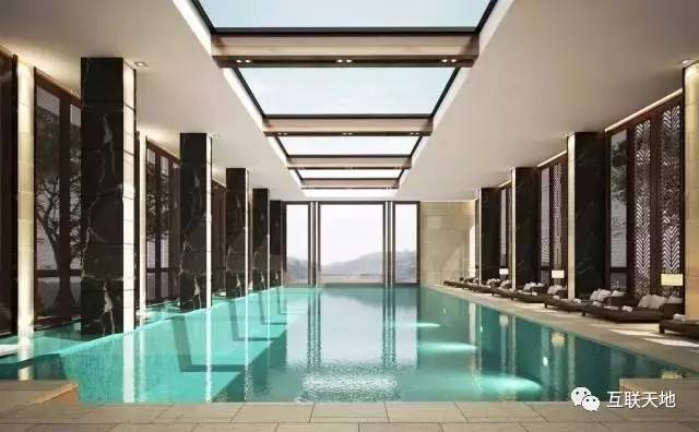 旅游 正文  营业时间:06:00-22:30       透明玻璃边框游泳池也是独具