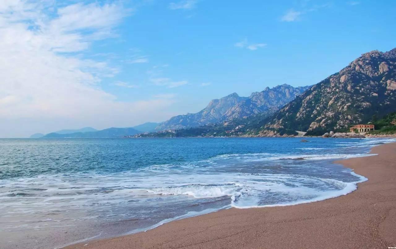 青岛灵山岛,金沙滩海水浴场纯玩二日游!