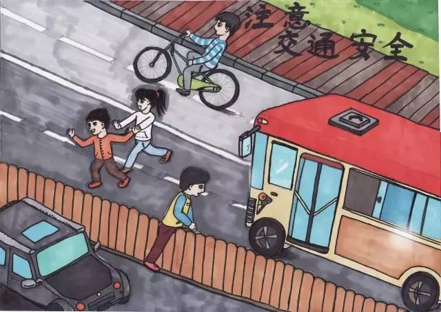 """东城区举办小学生""""我做安全小达人""""主题绘画比赛"""