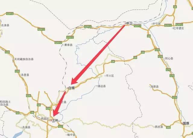 靖远县道路规划图