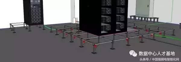 2017年最新最全机房建设工程大样图(3d模型版,cad版)图片