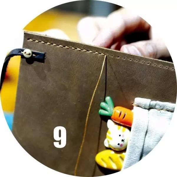 手工diy皮包教程图解
