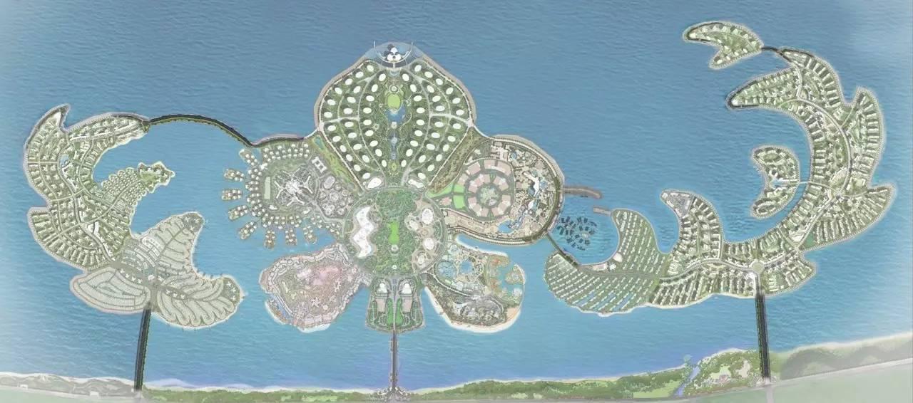 花与海漫步之约:海花岛外海环岛公路景观设计