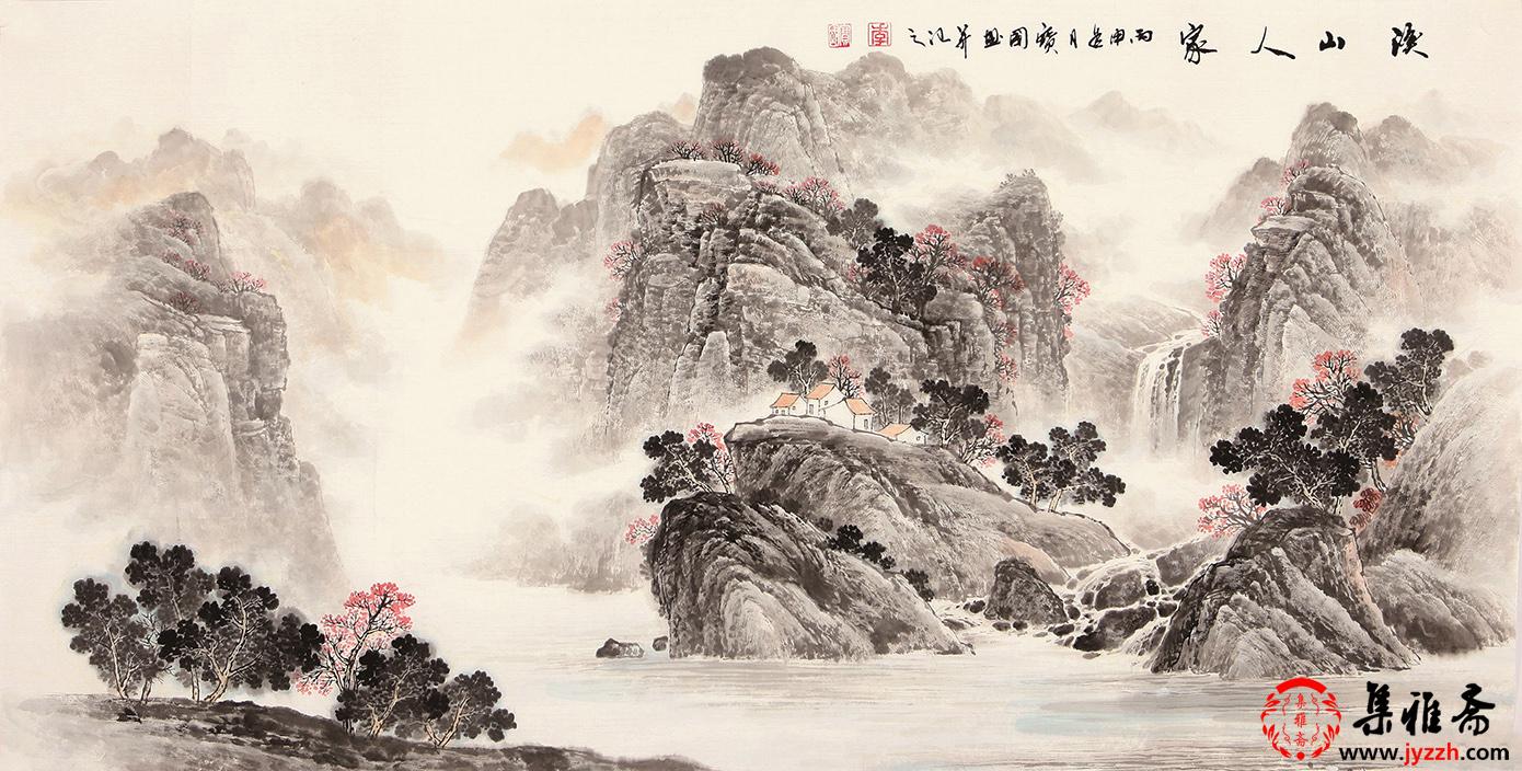 浅析传统山水画意境 山水画的意境美该怎样欣赏?