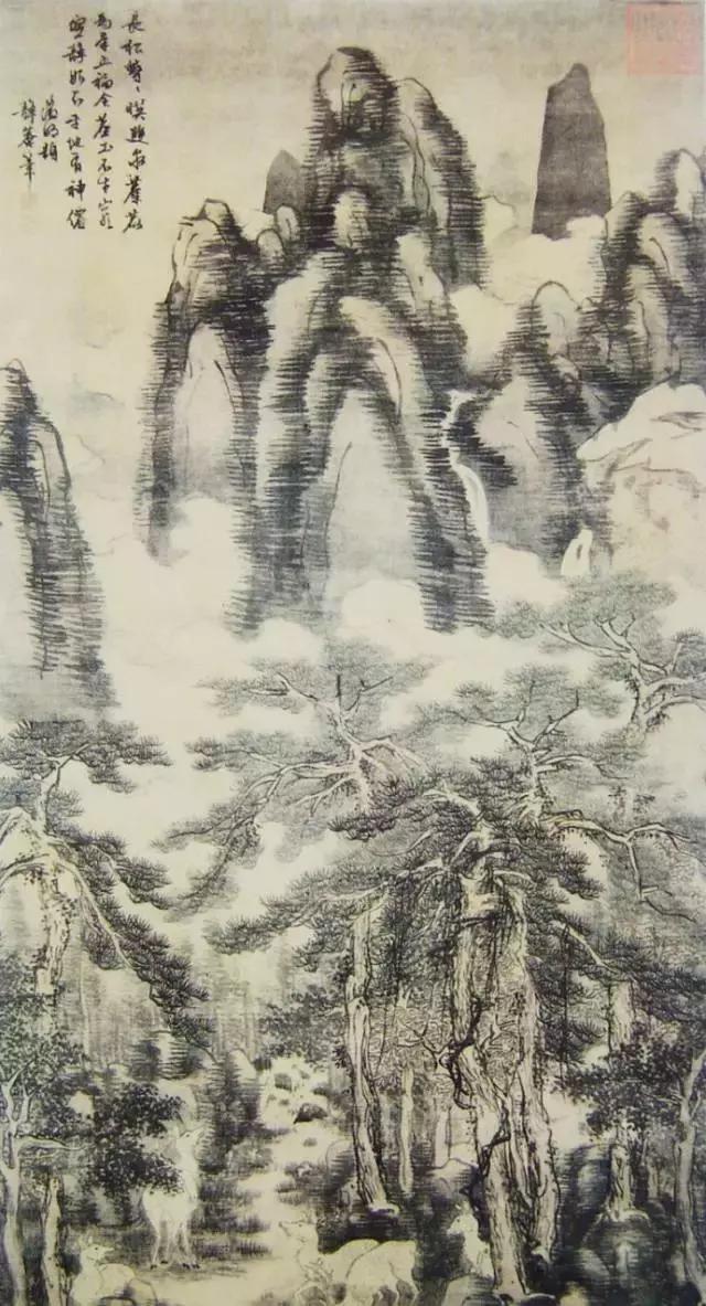 中国山水画中的 百树之王