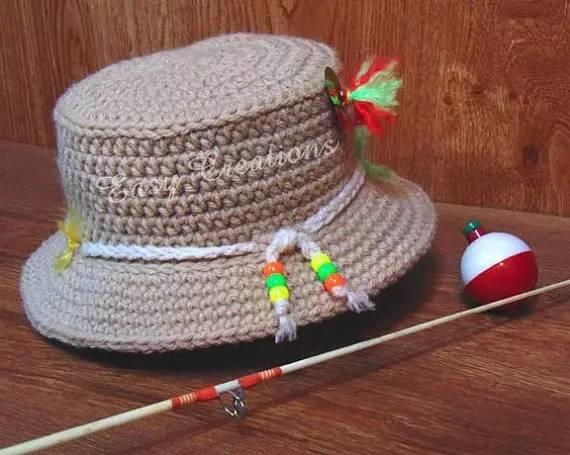 钩织帽子使用的方法是圈钩,每一圈按照规律加针,到头围最大部分不加