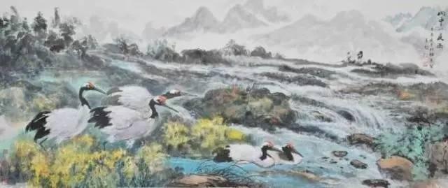 画家蔡春鹤的作品欣赏