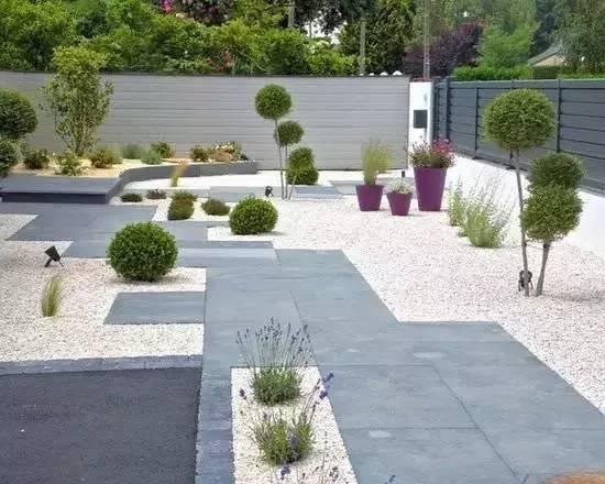 庭院铺装图集,需要做庭院的都来看看吧图片