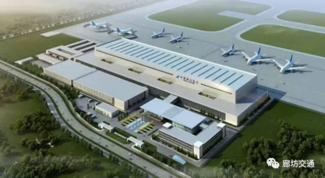 北京新机场南航基地机务维修区