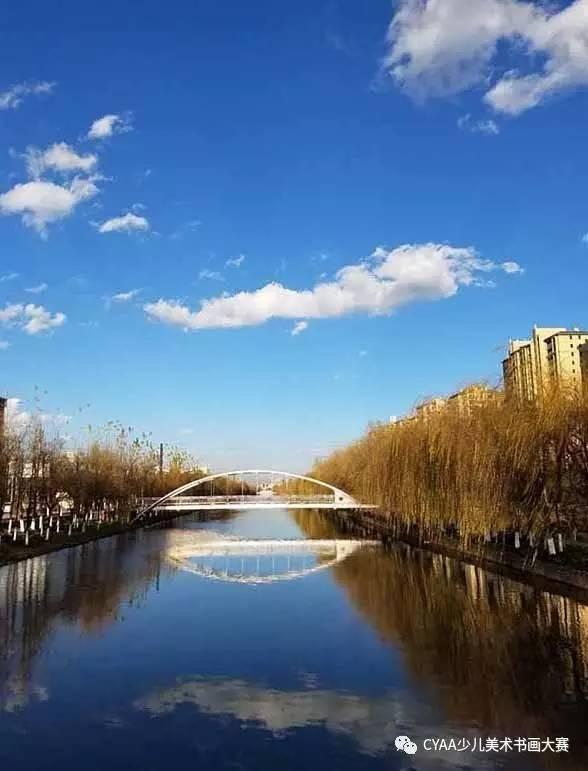 g710405035 张宸铭 9岁 男 摄  《昆明蓝·桥》 指导老师:寸晓丹
