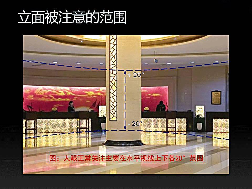 案例设计商场中的室内立面照明应用解析【设易平面设计史授课图片