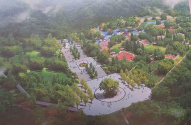 通江人期待已久的壁山森林公园已经建成这样图片