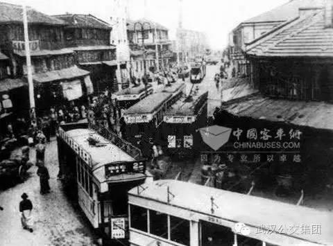五十年代的公交车