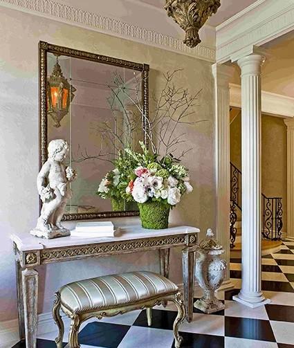 法式客厅,永不过时的浪漫情调图片