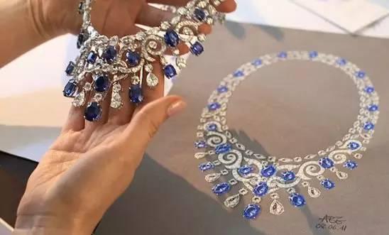 珠宝手绘艺术之美
